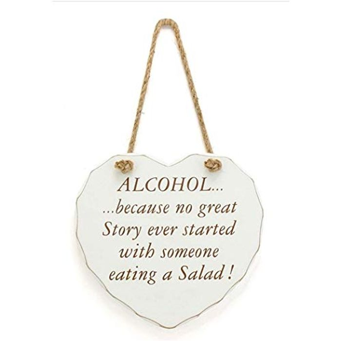 1PC Wooden Funny Sign Wall Plaque