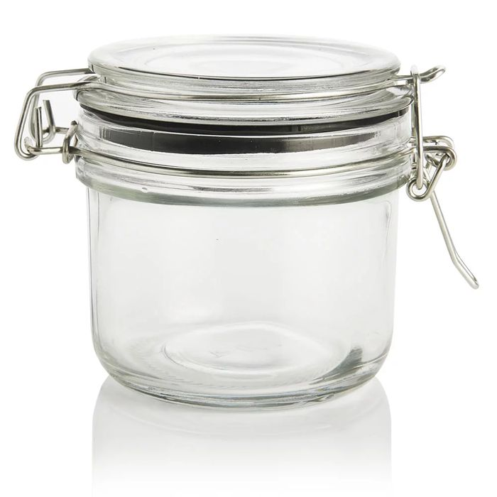Glass Serving Jar and Clip Lid 160ml