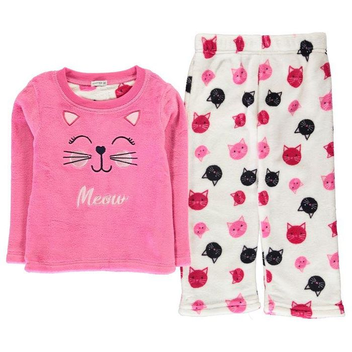 Crafted Essentials Cuddle Fleece Pyjama Set Infants
