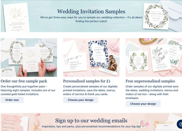 Wedding Invitation Samples