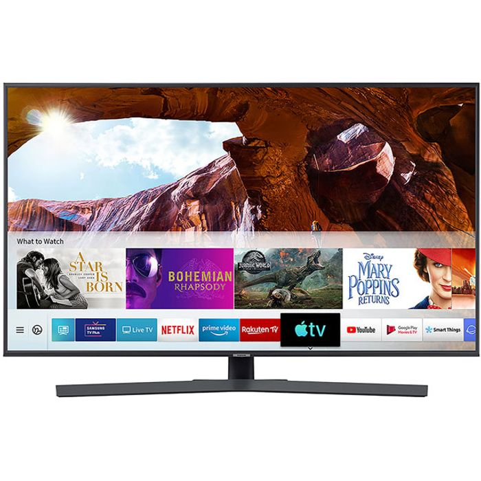 """*SAVE £280* Samsung 65"""" Smart 4K Ultra HD TV with HDR10+Crystal Colour, Apple TV"""