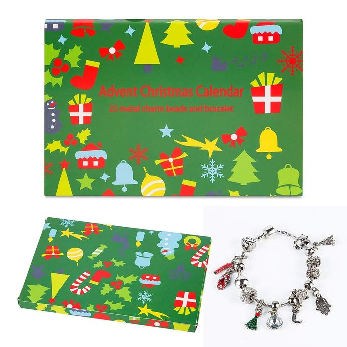 Cheap 24 Day Christmas Jewellery Advent Calendar Only £15.99