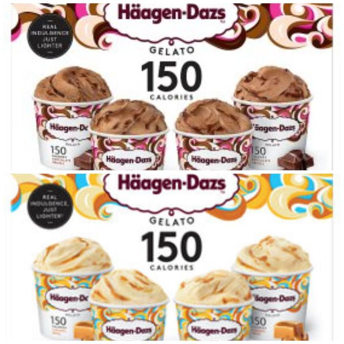 Haagen-Dazs Chocolate Drizzle Minicup Gelato Collection 50%off at Asda