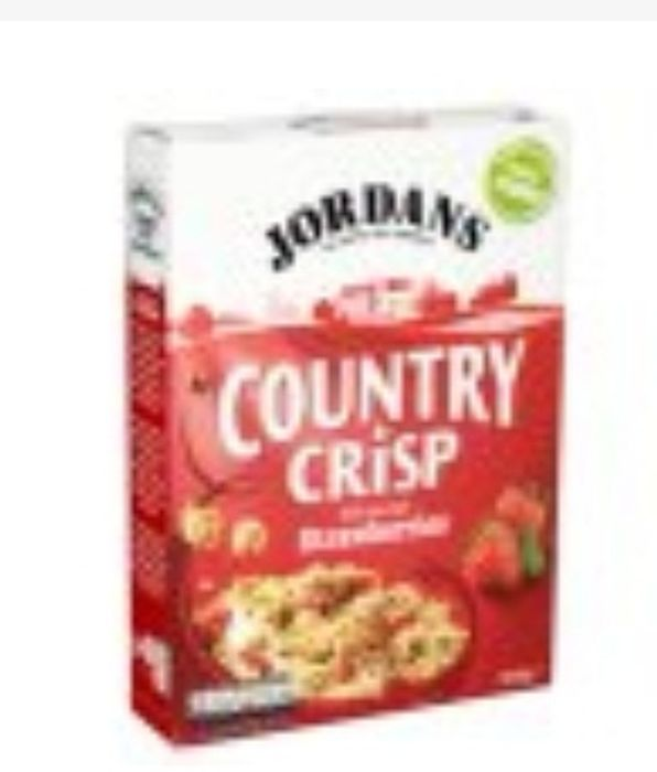 Jordans Country Crisp with Strawberries Cereal 500g