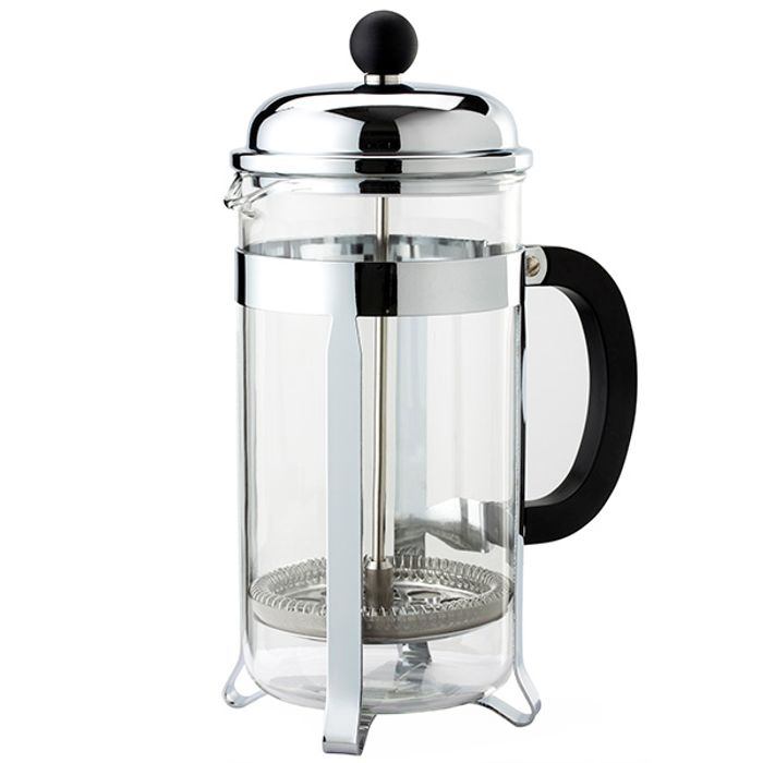 Sainsbury's Home Chrome Cafetiere 8 Cup