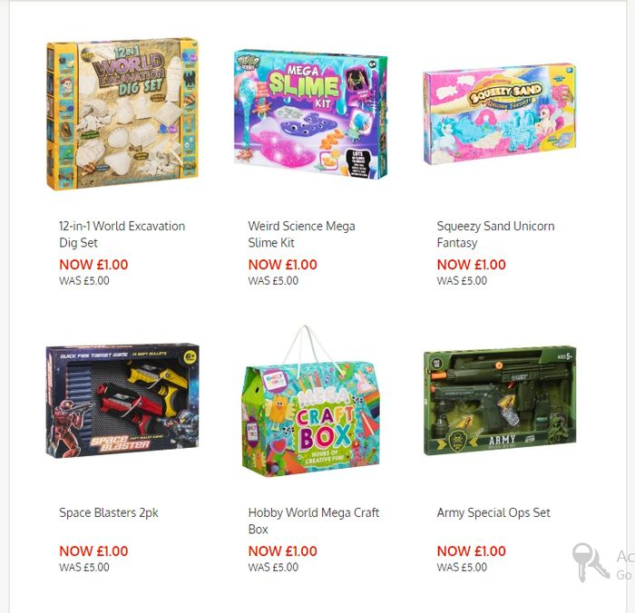 B&M Toy Sale (Toys down from £5 to Just £1)!!