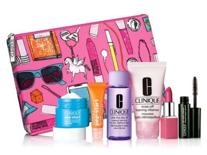 Free Clinique Pep Yourself Pretty Gift When You Spend £45 across Clinique