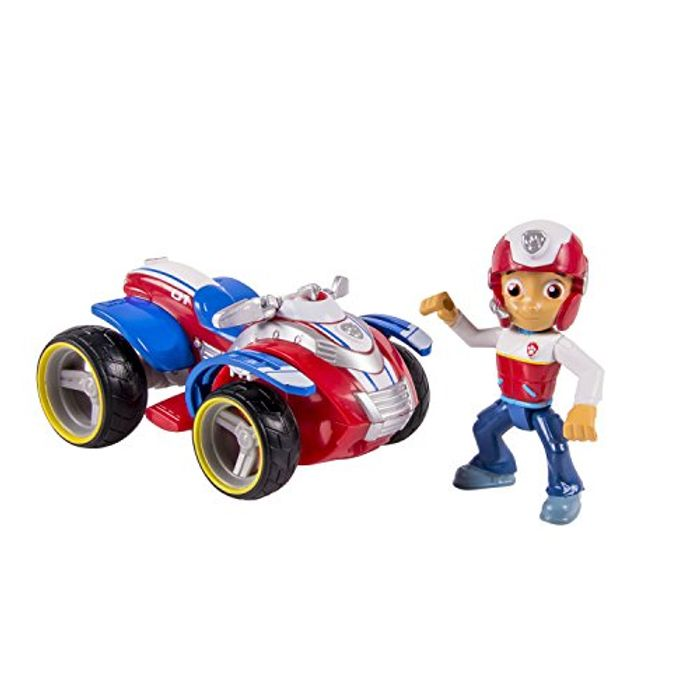 Paw Patrol Ryder Figure and Vehicle