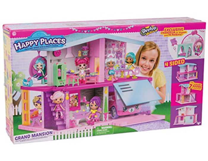 Shopkins Happy Places Mansion Playset