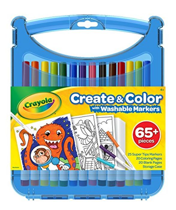 Best Price Crayola Create and Colour Art Set at Amazon