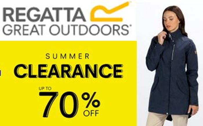 Regatta Clearance Sale - fleeces, jackets, walking boots etc.
