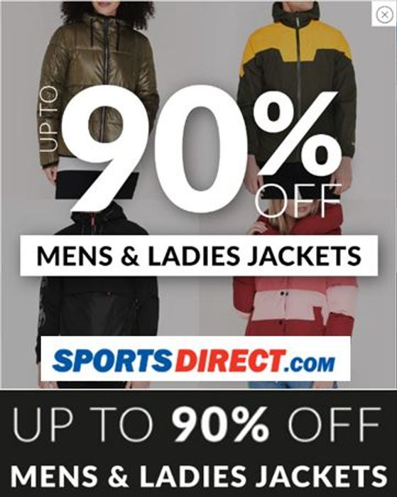 Going Cheap! Jackets at Sports Direct