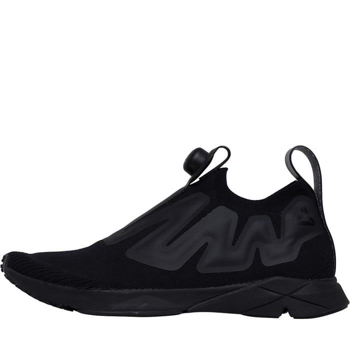 *SAVE £100* Reebok Pump Supreme Ultraknit Trainers Black/Black Sizes 8/8.5/9