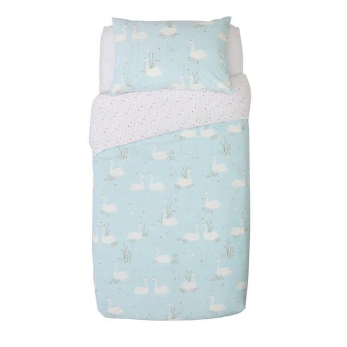 Swan Princess Children's Bedding Set - Single