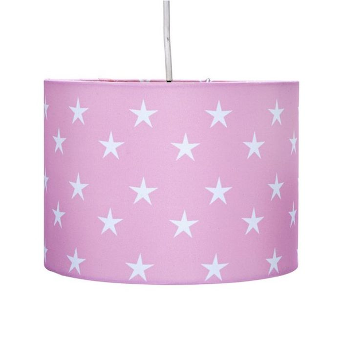 Argos Home Star Print Kids Light Shade - Pink