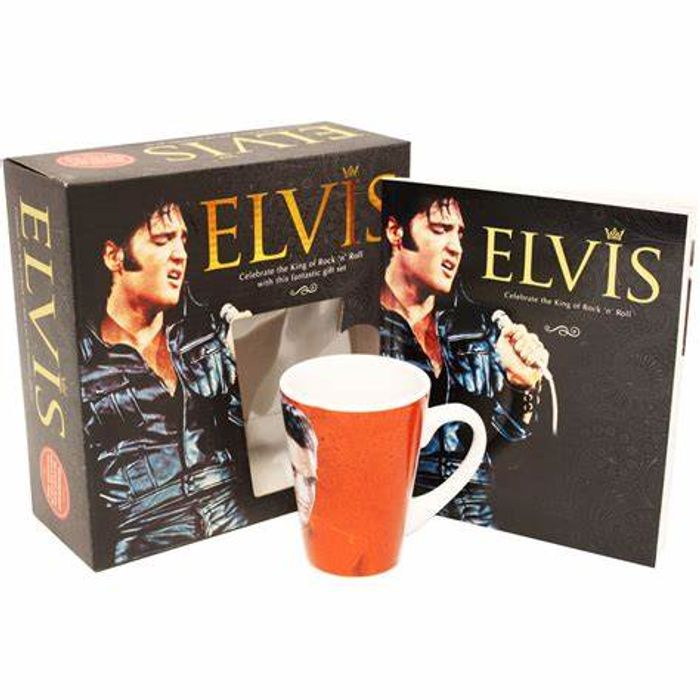 Elvis - Book and Mug Gift Set - Just £3.20!