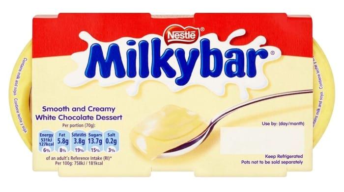 Nestle Milkybar Desserts 2x70g