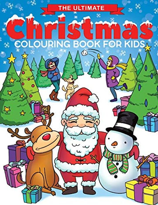 Christmas Colouring Book for Kids - RRP £6.95 Launch Price £2.95