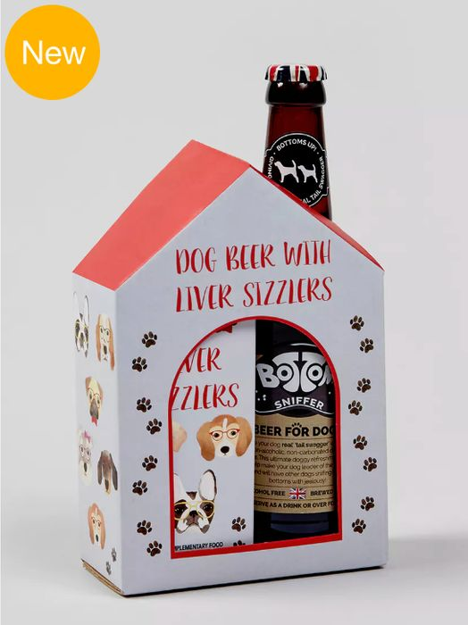 Christmas Treats! Dog Beer & Liver Sizzlers