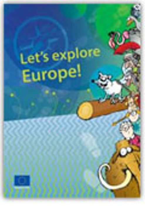 Free Lets Explore Europe! Book for Children
