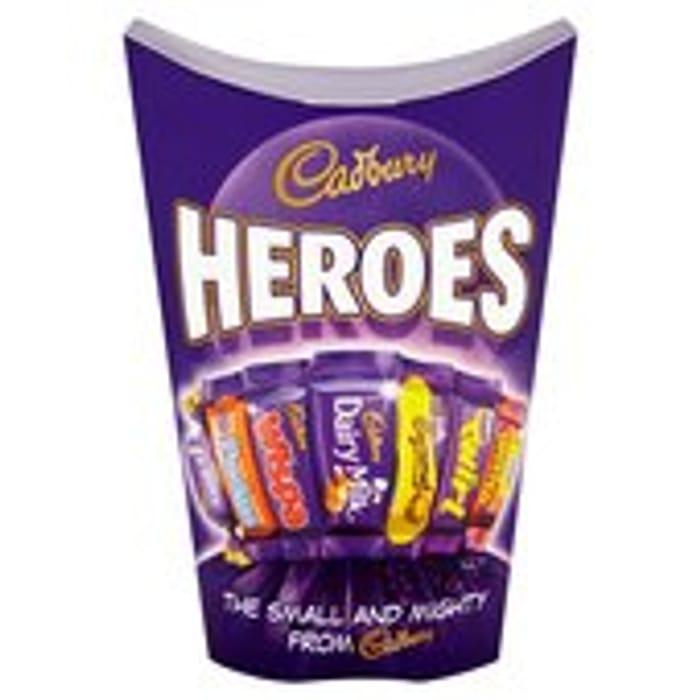 Cadbury Heroes Chocolate Carton 185g