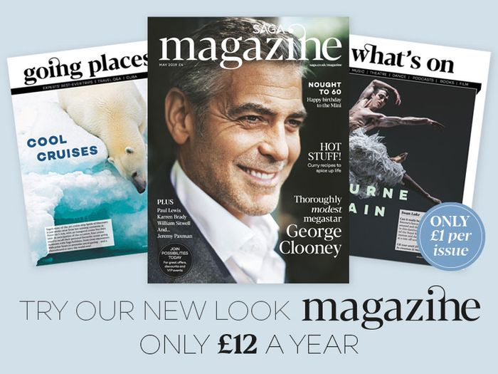 Free Issue of Saga Magazine