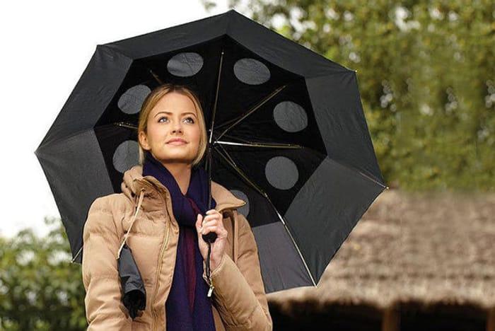 Wind-Resistant Umbrella - 4 Colours!