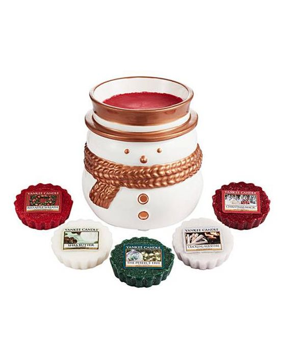 Yankee Candle Jackson Frost Warmer Set