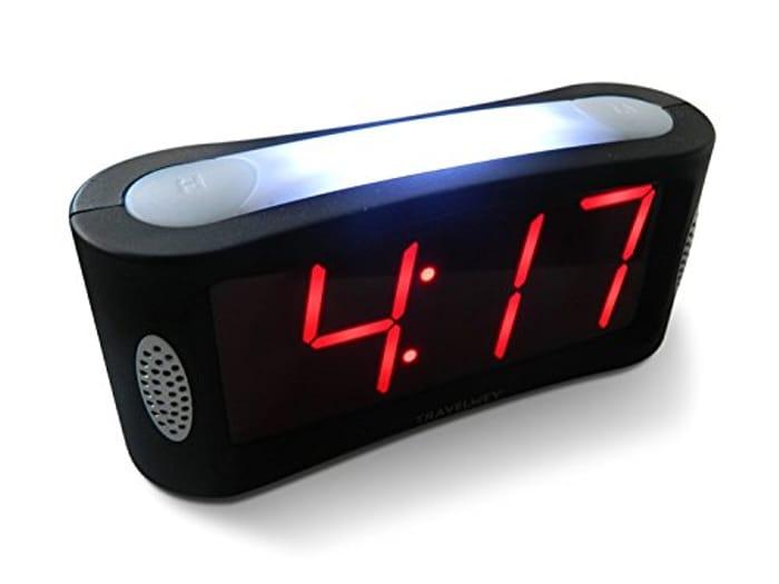 Digital Alarm Clock - Mains Powered, No Frills Simple Operation Alarm Clocks