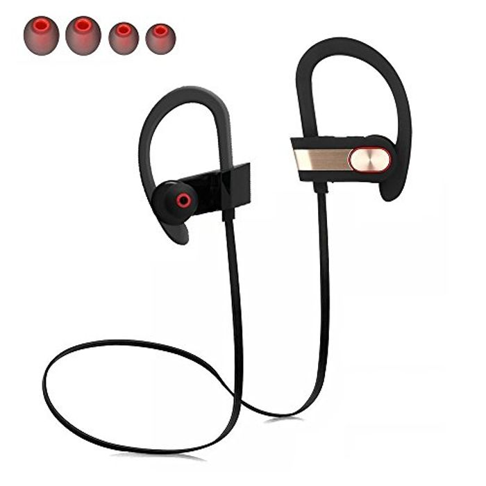 Wireless Earphones Bluetooth 4.0 Stereo Noise Cancelling with Mic, save 75%