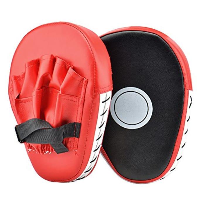 Punching Kicking Palm Hook & Jab Strike Pads Target Mitt Glove