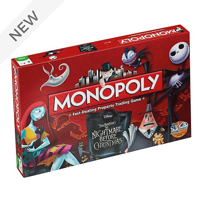 Best Price The Nightmare Before Christmas Monopoly at shopDisney