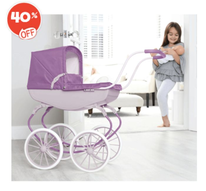 Purple Dolls Pram