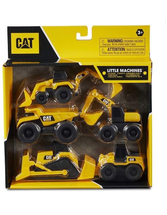 Caterpillar Mini Dump Truck Toys - Set of 5 £1.94