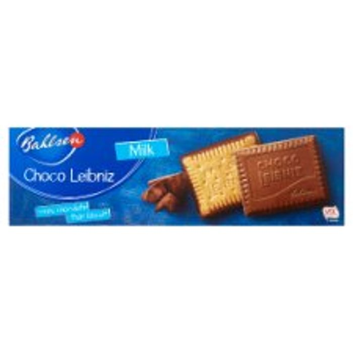 Bahlsen Milk Choco Leibniz 125G Milk /Dark / White or Orange Flavours