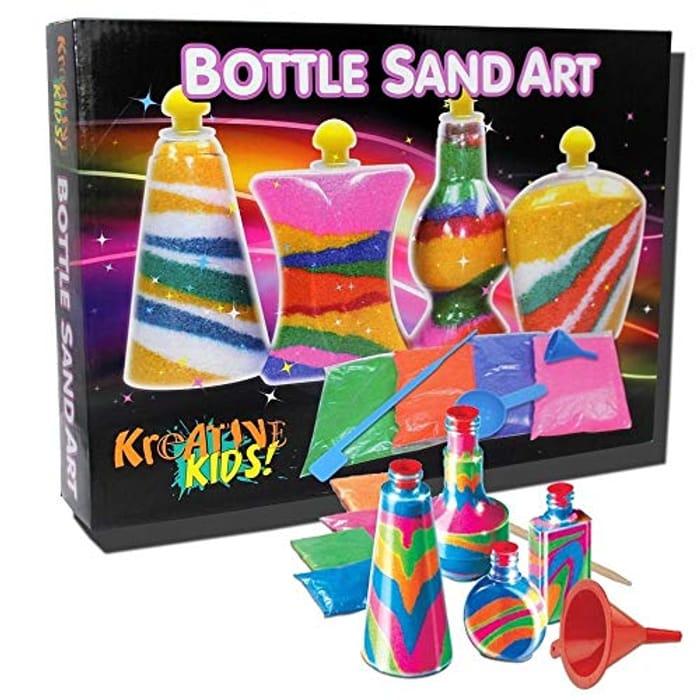 NOSTALGIC Sand Art Childrens Craft Activity Set