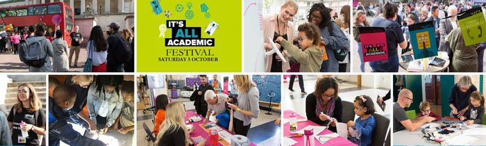 UCL It's All Academic Festival Fun, Free and Interactive for All Ages