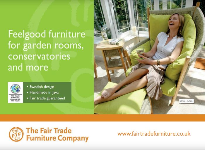 Get A FREE Catalogue From The Fair Trade Furniture Company By POST
