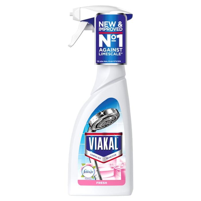Viakal Limescale Spray with Febreeze 500Ml