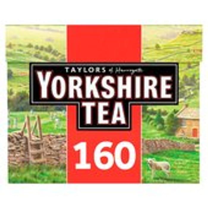 Yorkshire Tea Bags 160s 500g