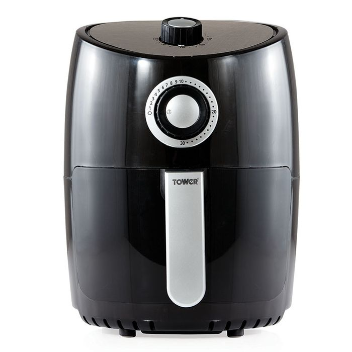 Tower T17023 2.2L Manual Air Fryer - Black