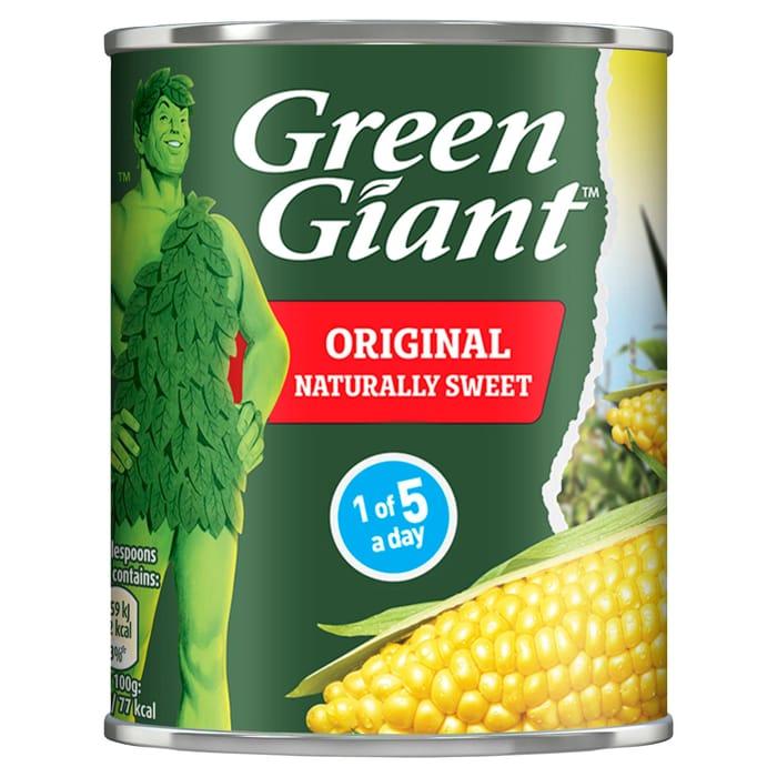 Green Giant Original Sweetcorn 198g
