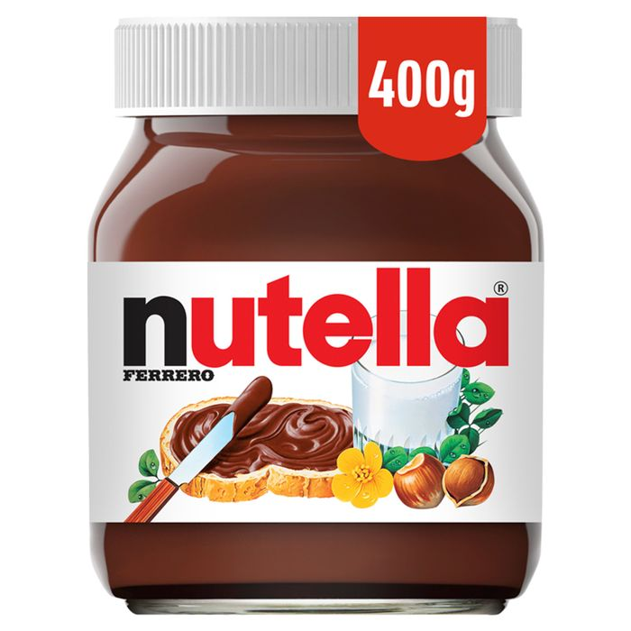 Nutella Hazelnut Chocolate Spread 400g 2 At Tesco