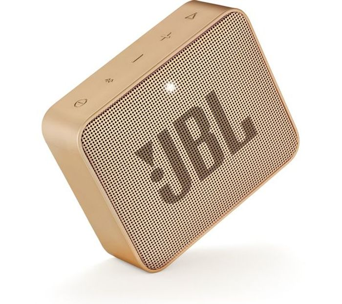 JBL GO2 Portable Bluetooth Speaker - Gold + a Chance to Win a VIP Trip to Vegas