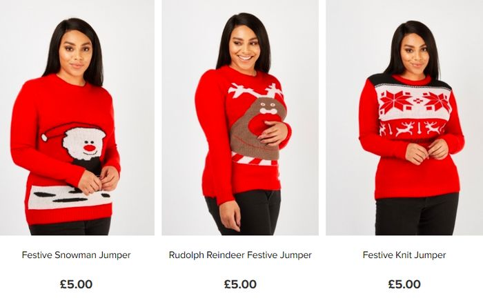 Christmas Jumpers for £5