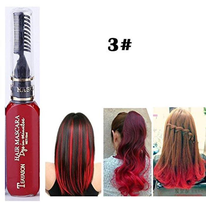 13 Colours Hair Color Chalk Comb Only £2.27