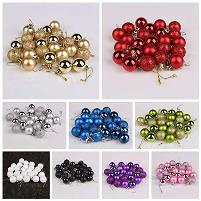 minlop 24pcs Christmas Balls Down From £8.59 to £2.58