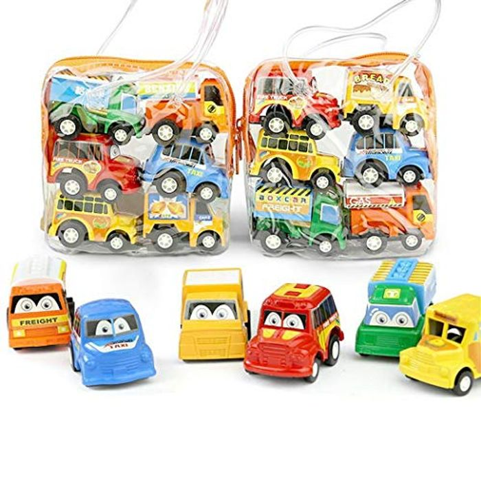 6pc Toy Cars Set for Kids