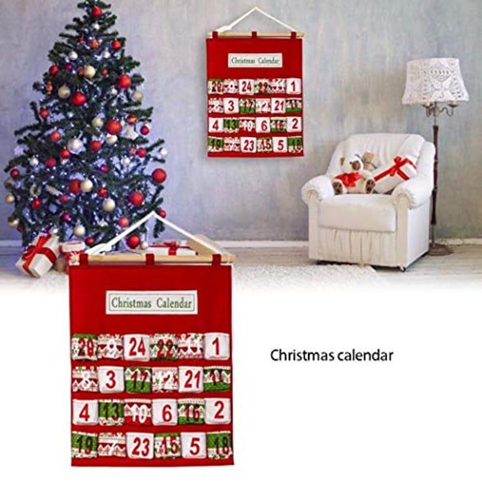 Cheap Felt Hanging Advent Calendar Only £9.8