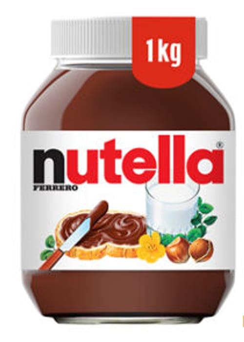 1kg Nutella £4 at Asda